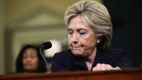 Hillary Dejected