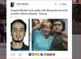 Merkel Brussels Attack