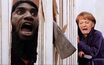 Merkel Terrified